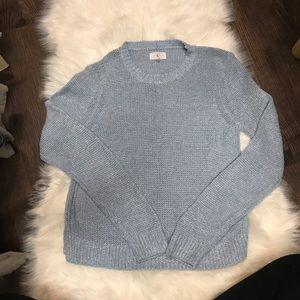 Lou & Grey Sweater in Light/Carolina Blue Color M.